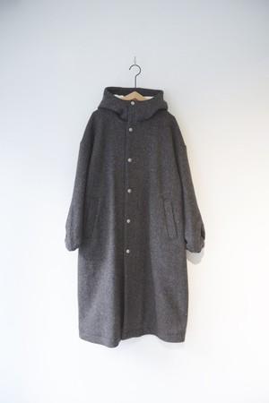 【ORDINARY FITS】HOODIE COAT wool/OF-T004