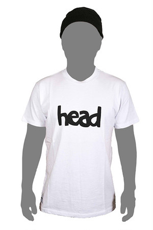 LOGO T-SHIRT MEN White (head)