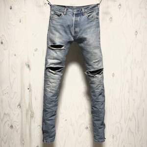 Levi's 501 crash&riri zip custom w30
