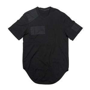 637CUM14-BLACK / パッチT-シャツ ver.1