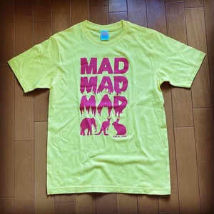 MAD ANIMAL T-Sirts Pink print on yellow