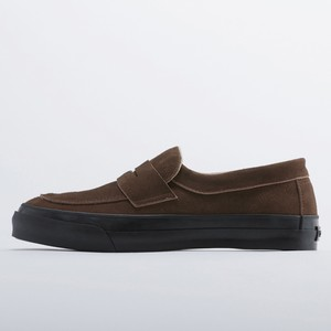 PRAS-COMFY LOAFERS  BROWN SUEDE