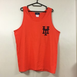 YH Mets Tank Top (Orange×Navy)