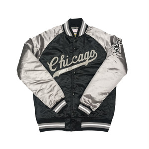 Mitchell & Ness Tough Season Satin Jacket Chicago White Sox