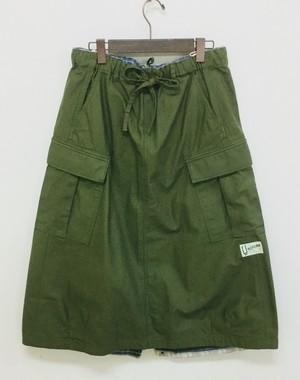 30%OFF【快晴堂】カーゴスカート/73SK-43