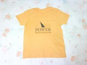 POWER Tシャツ ( ダリア イエロー )