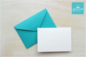 ギフト用メッセージカード(アトリエ プラハルーザ オリジナル)風船・WELCOME BABY