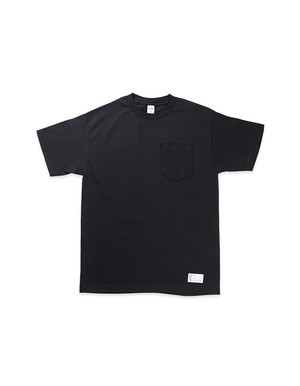 Trust No One Pocket Tee / BLACK