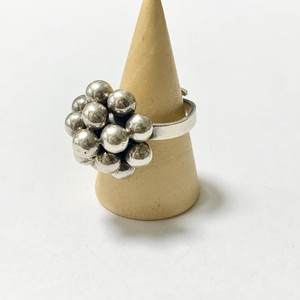 Vintage Modernist Balls Ring Made In Mexico ②