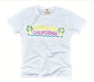 CALIFORNIAネオンTシャツ(white)¥3000+tax