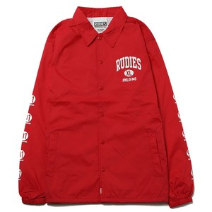 "RUDIE'S / ルーディーズ | "" COLLEGE "" COACH JACKET - Red"