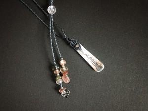 ダンビュライト macrame necklace