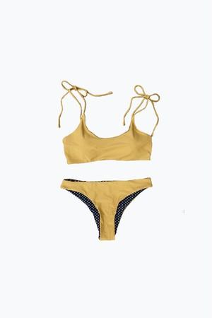 bikini - mustard