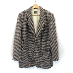 【Lizwear】Wool Check Jacket