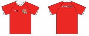 2018年U12ゲームシャツ(番号なし)U12(~小学4年生)対象商品