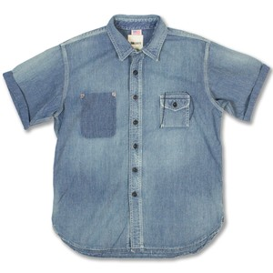 "Classic Work Shirts ""Remake"" Remake Indigo Blue"