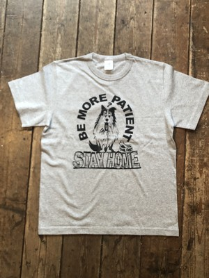Stay Home S/S Tee Shirt, Be More Patience 送料無料
