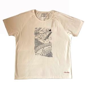 ヨクキタネHEMPチュニックTシャツ