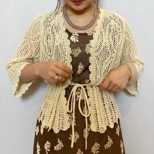 (PAL) crochet cardigan