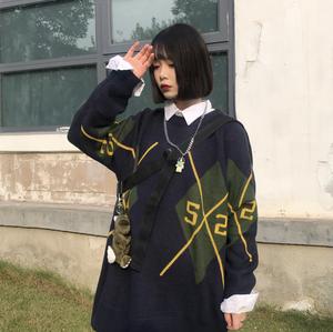 【お取り寄せ商品】ラウンドネックセーター 8587