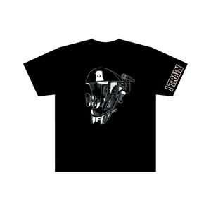 1 TRAIN T-SHIRTS BLACK