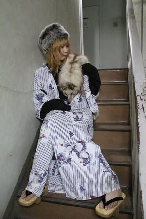 USA☆浮世ロング羽織