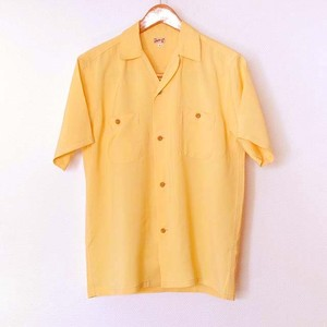 BOWLING  SHIRT (YELLOW)