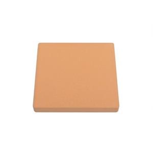 自然素材100%珪藻土コースター【茶色四角型】厚型