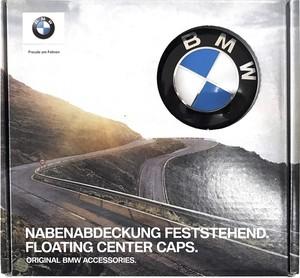 BMW純正部品 フローティング センター キャップ 68mm 4個1セット ハブキャップ ホイールセンターキャップ 1' E81 E87 E88 E82 F20 F21 2' F22 F87 F23 3' E90 E91 E92 E93 F30 F31 F80 F34 4' F32 F82 F83 F33 F36 5' F07 F10 F11 6' F06 Gran Coupé F12 F13 7' F01 F02 F04 Hybrid X3 E83 F25 X4 F26 X5 E70 F15 X6 E7