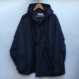 UNIVERSAL PRODUCTS NYLON HOODED COAT / ネイビー