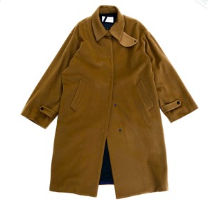 Bench Coat/CAMEL/Cashmere