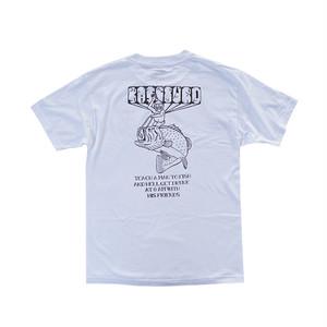 BASSTURD - SIX AM TEE (White)