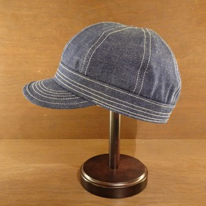SPECIAL 8P WORK CAP(COVERT INDIGO DENIM)