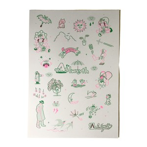 "Alwayth ""Print, Illustrated by LURK"" [送料無料]"