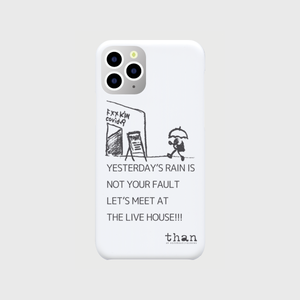 iPhone 11 Pro対応【than / LET'S MEET AT THE LIVE HOUSE!!!】than original phone case