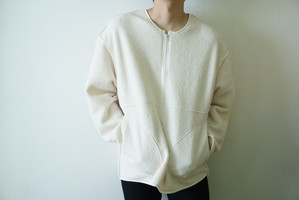 White bore fleece