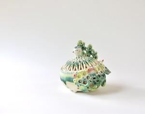 青緑トリ香炉