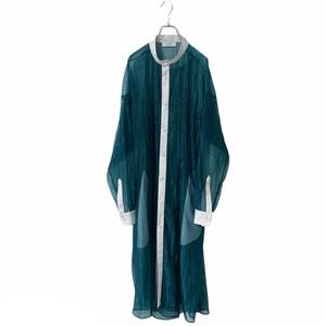 【オーダー受付】Lace-Longshirts (wrinkle blue)