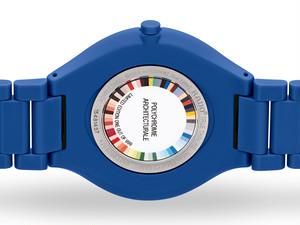 【RADO ラドー】True Thinline Les Couleurs™ Le Corbusier  Spectacula ultramarine 4320K シンライン ル・コルビュジエ(ブルー)/正規輸入品