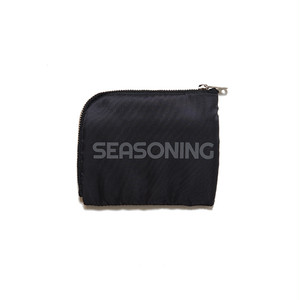 SEASONING×PORTER WALLET - BLACK
