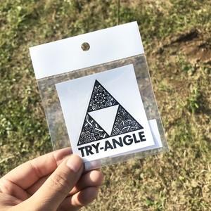 オリジナルステッカー(TRY-ANGLE)
