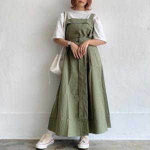waist belt jumper skirt《Au-15》