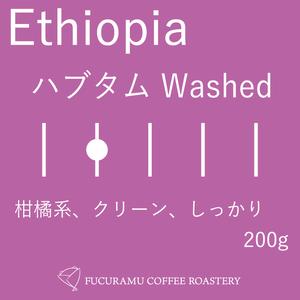 エチオピア ハブタム ウォッシュト【ハイロースト】200g