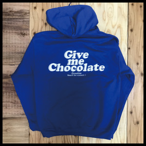 GIVE ME CHOCOLATE HOODIE【BLUE】