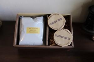 ドリップバッグとコーヒーゼリーのセット