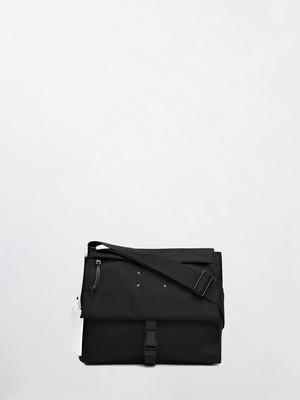 MAISON MARGIELA Nylon Shoulder Bag Black S55WG0114