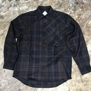 【salvy;】DADDY CHECK HOUNTER SHIRT