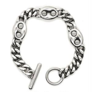Vintage Sterling Silver Mexican Modern Bracelet