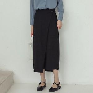 【ワンピース】ナチュラルキャンパス不規則気質よい抜群なデザインAラインスカート