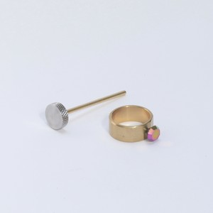 Small Factory Ring TAZOE(タゾエ) STANDARD SET Ring (1) 一つ穴